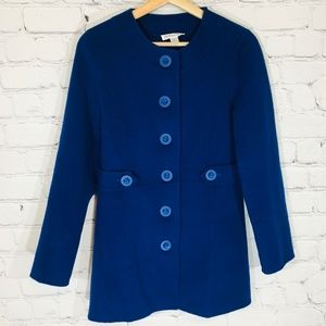 PENDLETON 100% Merino Wool Tunic Pea Coat SMALL